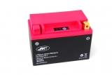 Batterie Motorrad HJTX9-FP JMT Lithium-Ionen mit Anzeige